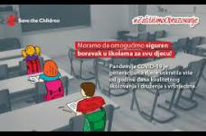 Zaštitimo obrazovanje,  Save the Children Radio Goražde; 23. 08. 2021.