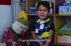 I want to go to kindergarten, too! - I ja želim u vrtić!