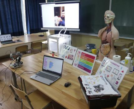 Projekat TABLA i STEAM laboratorije za kreativnost i inovativnost učenika